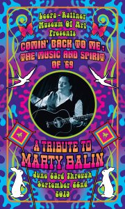 "Members' Preview Reception for ""Comin' Back to Me: The Music and Spirit of '69"" -A Tribute to Marty Balin @ Leepa-Rattner Museum of Art"