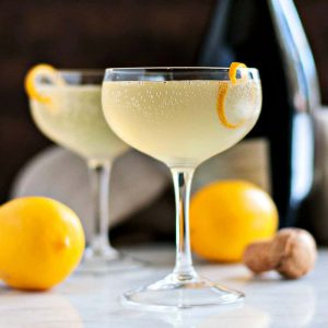Virtual Happy Hour - French 75
