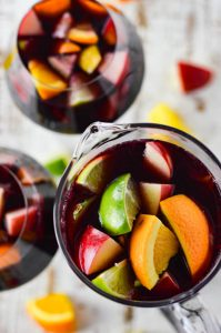 Virtual Happy Hour - Sangria and Wine Spritzer